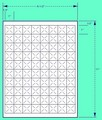 "1"" x 1"" Tamper Proof Pricing Laser Sheet Labels (100 Sheets)"